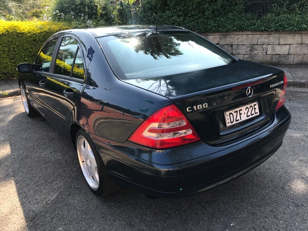 Used Mercedes Benz for Sale - rear view