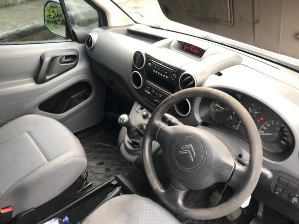 Used Citroen Berlingo for sale - front cab