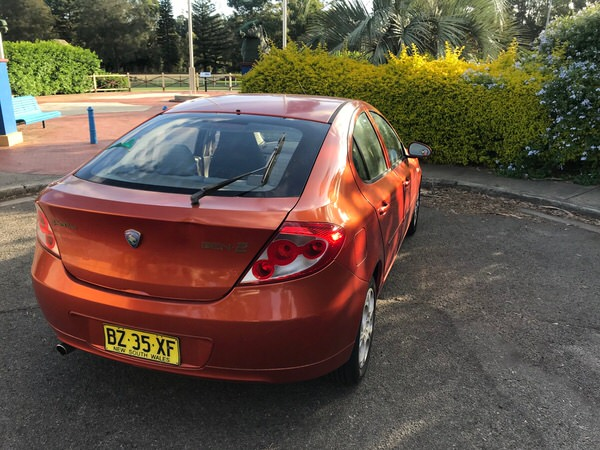 Used Proton for sale - rear view