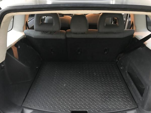 Rear luggage space
