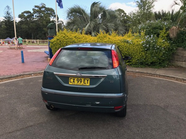Ford Focus for sale - rear view