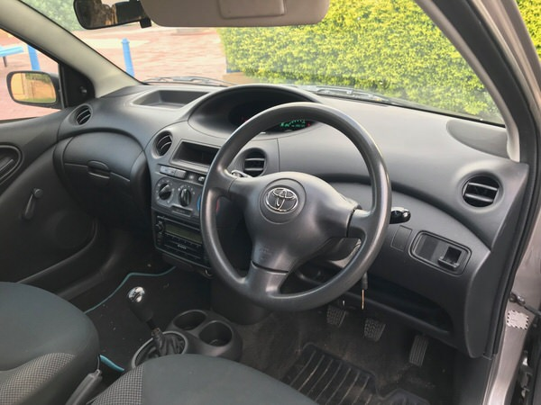 Used Toyota Echo - drivers seat view