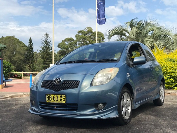 Used Toyota Yaris - front view