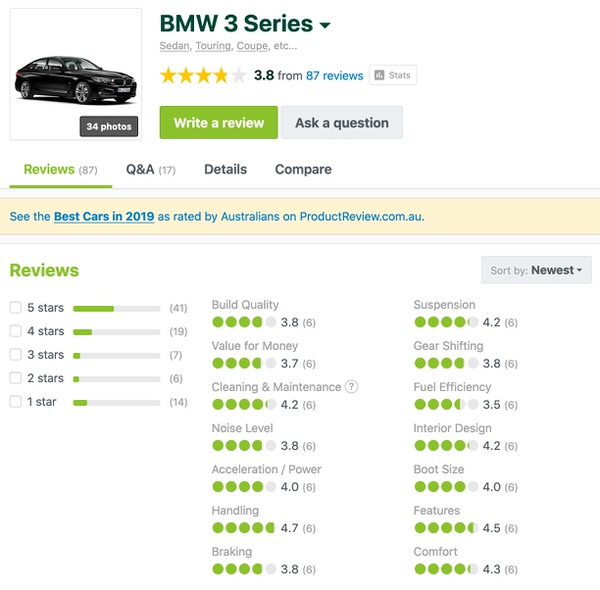 BMW 3 Series used Customer reviews