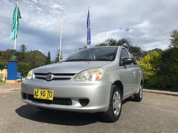 Used Toyota Echo for sale - front side view