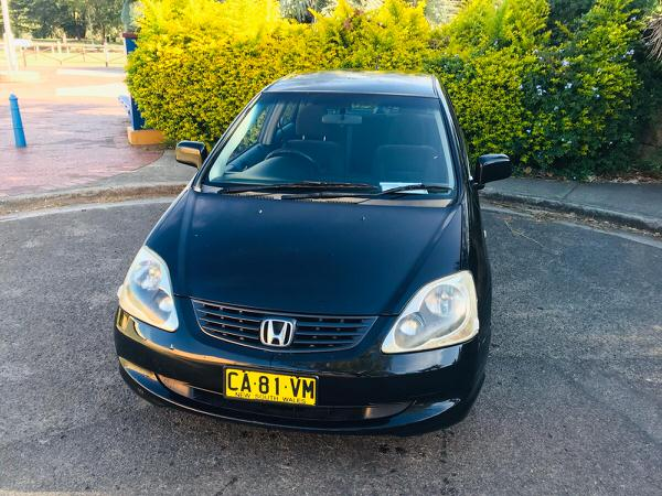 Used Honda Civic for sale - front side view