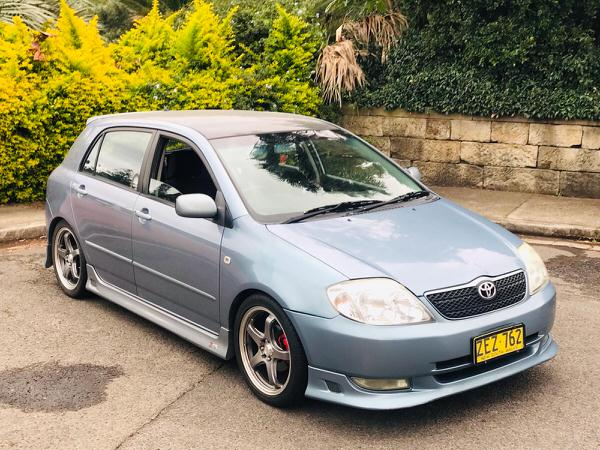Used Toyota Corolla for sale - front side view