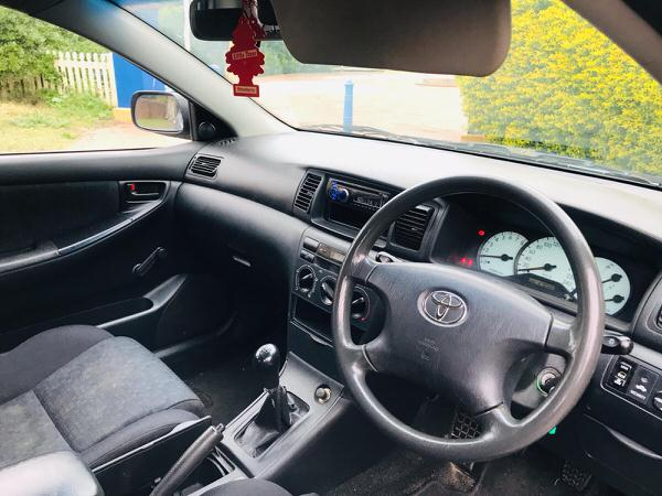 Used Toyota Corolla for sale - view from drivers seat