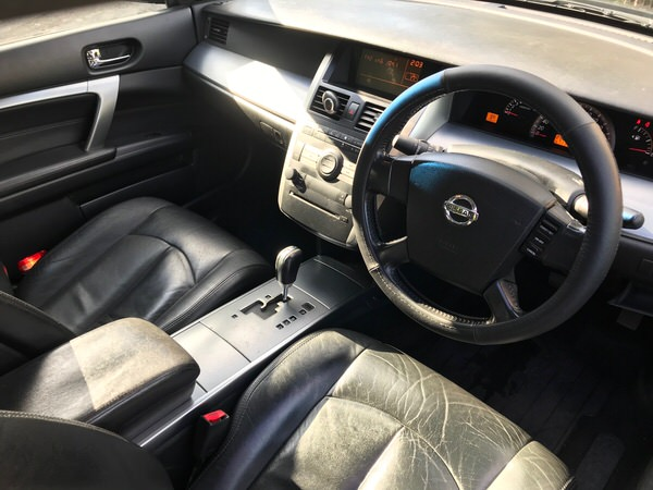Used Nissan Maxima for sale - view from front drivers seat
