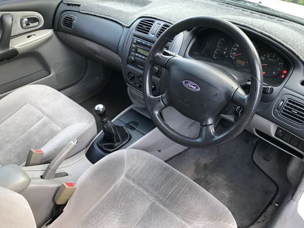 Used Ford Laser for sale - view from drivers seat
