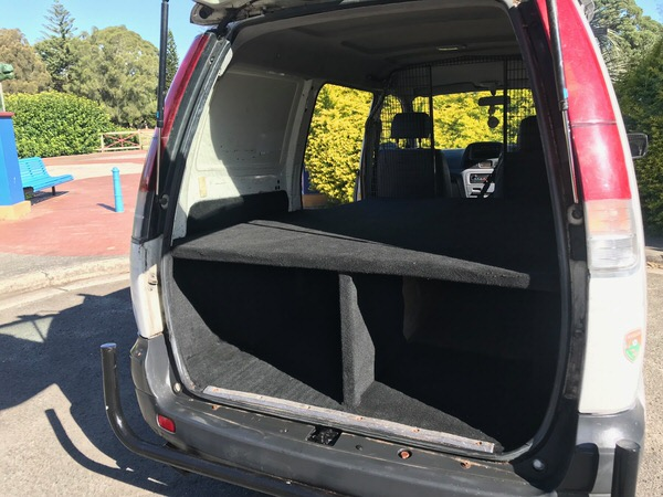 Used Toyota Townace for sale - comes with built in storage
