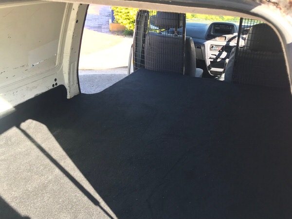 Used Toyota Townace for sale - rear cargo space