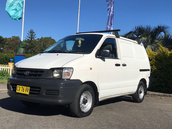 Used Toyota Townace for sale - front side view