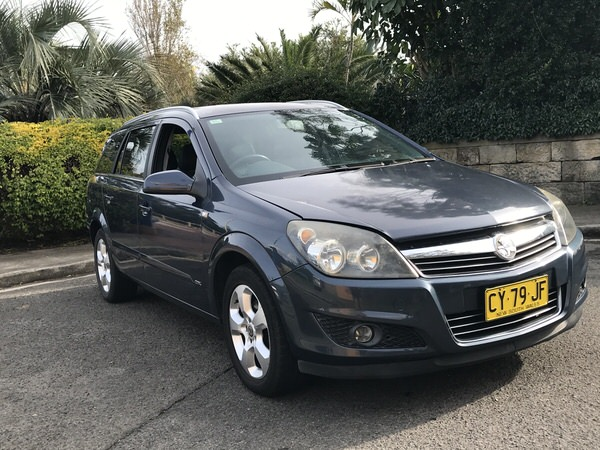 Holden Astra Station Wagon for sale in Sydney - front drivers side view
