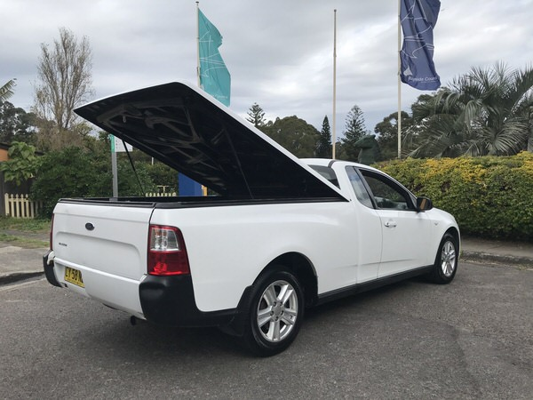 Used Ford Ute for sale - rear view with canopy open