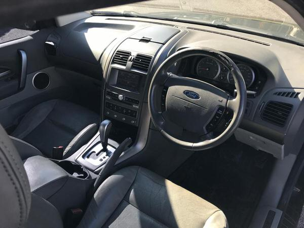 Used Ford Territory 4x4 for sale - view from drivers seat