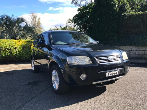 Used Ford Territory 4x4 for sale - front drivers side view