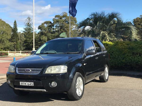 Used Ford Territory for sale - front passenger side view