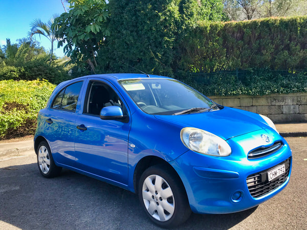 Used Nissan Micra for sale - drivers side front view