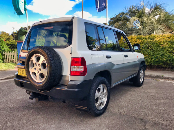 Mitsubishi Pajero For Sale in Sydney - view of back of vehicle