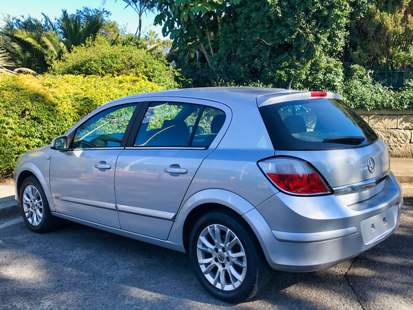 Used Astra for sale - view from passenger rear side view