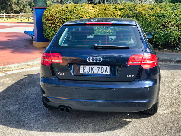 Used Audi A3 for sale - rear passengers side view
