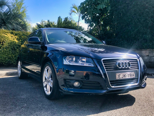 Used Audi A3 for sale - front drivers side view