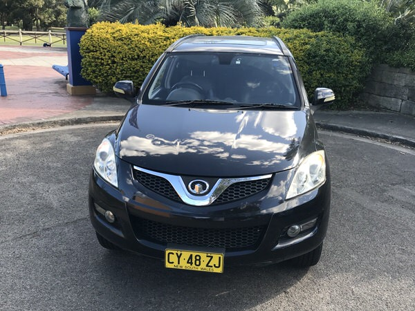 Great Wall x240 for sale - front passenger side view