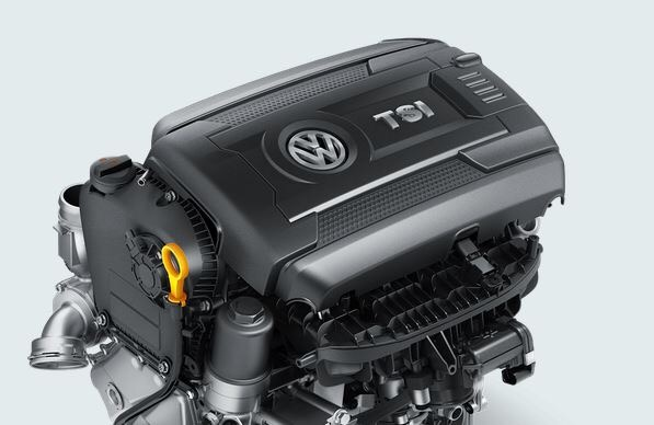 Used Golf TSI for sale - engine