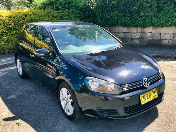 Used Golf for sale automatic - front drivers side view