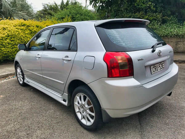 Used Toyota Corolla for sale - Rare Sportivo Model with full body kit
