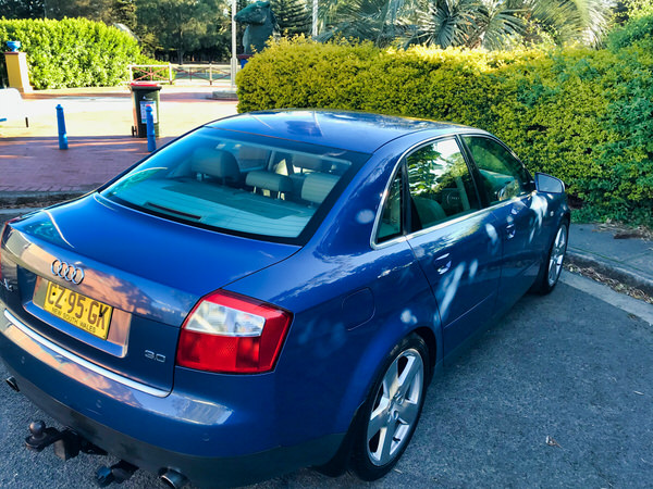 Used Audi A4 for sale - rear drivers side view