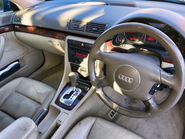 Used Audi A4 for sale - view from drivers seat