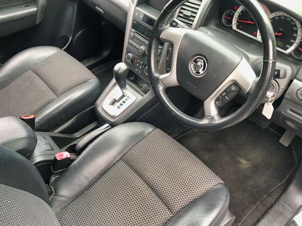 Used Holden Captiva for sale view from the drivers seat