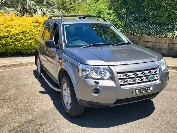 Freelander 2 for sale in Sydney - front drivers side view