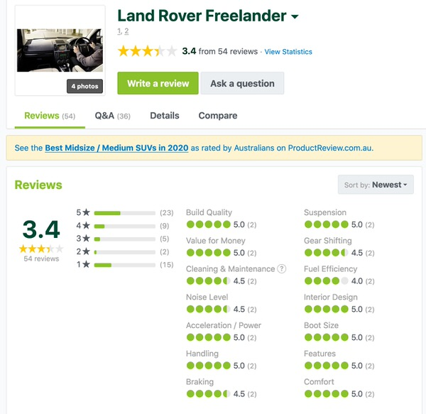 Land Rover Freelander 2 - Customer Reviews and Comments
