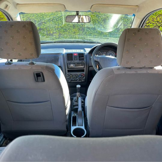 Used Hyundai Getz for sale Sydney - view from inside the car