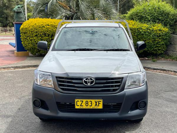 Toyota Hilux Front Cab