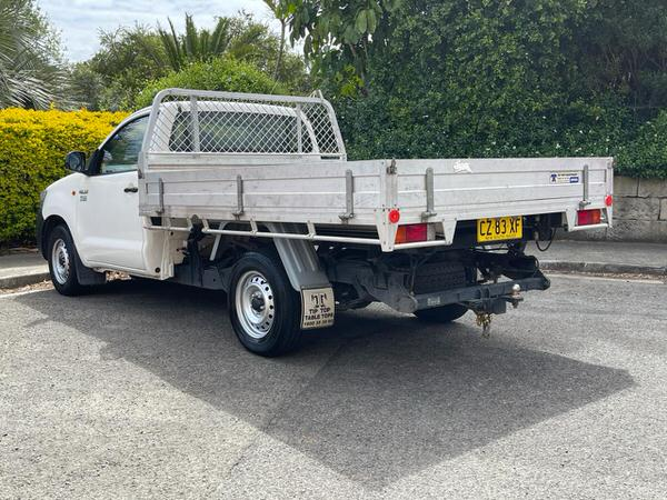 Toyota Hilux UTE with large hydrolic tipper