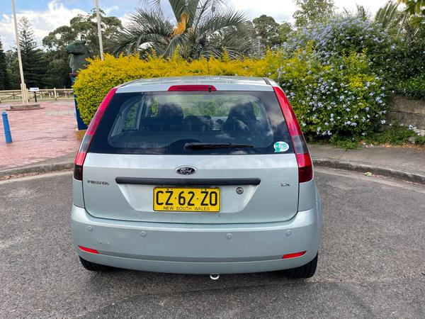 Rear view of this used automatic Ford Fiesta for sale