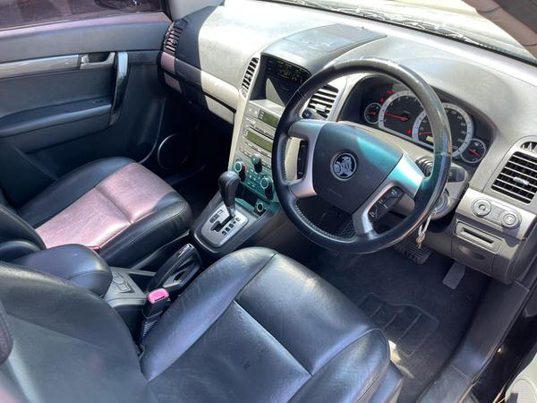 Used Holden Captiva for sale automatic model view from the drivers seat