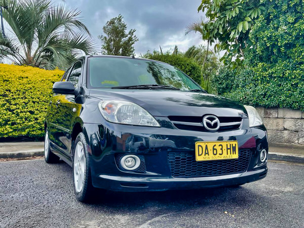 Used Small Mazda for Sale - front drivers side view