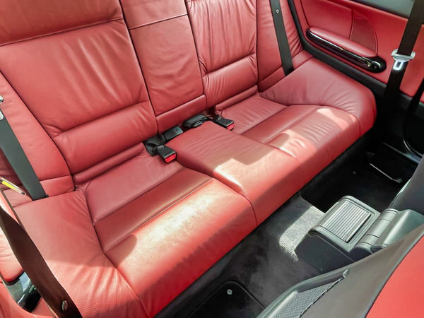 BMW 3 Series for sale automatic coupe model - view from back seats