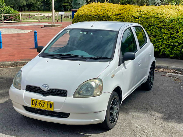 Passengers front side view - Toyota Echo for sale