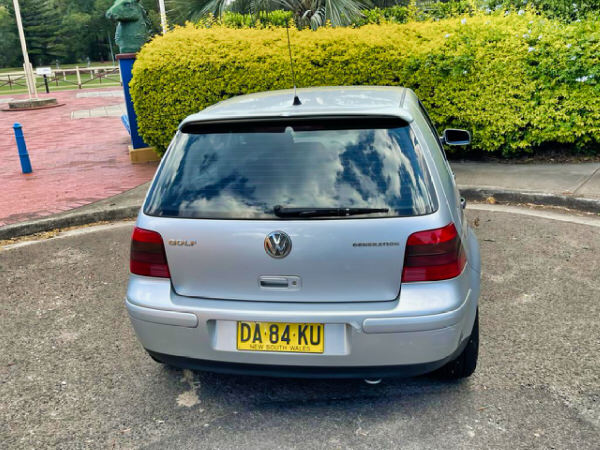 Used Golf for sale automatic model - view rear vehicle
