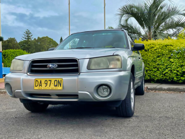 Used Subaru Forester for sale - automatic model front view
