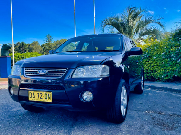 Used Ford Territory for sale automatic model - front passenger side view