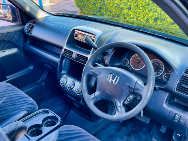Honda CRV for sale - view from the drivers seat