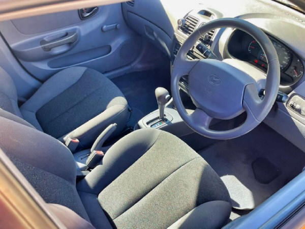 Used Hyundai for sale in Sydney - Automatic - view at the drivers seat