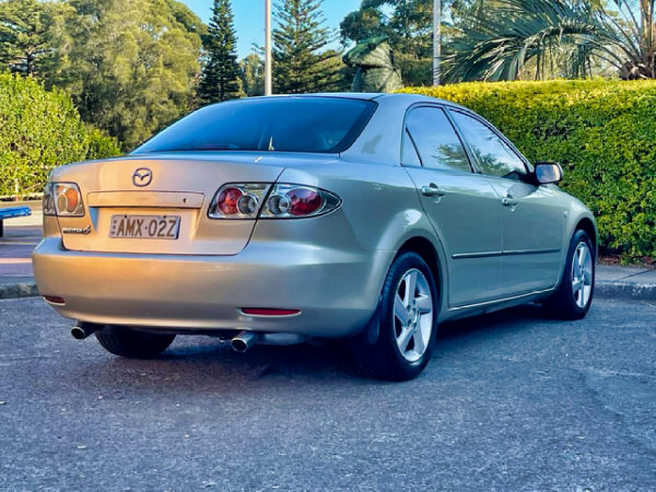 Used Mazda 6 for sale - rear drivers side view